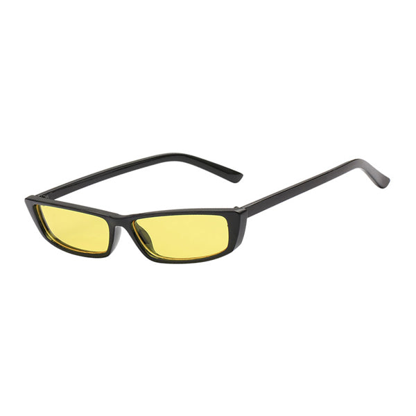 92d4d27f11 The Upwards Vintage Sunglasses Yellow Black - Youthly Labs