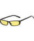 The Upwards Vintage Sunglasses Yellow Black - Youthly Labs