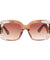 The Petals Sunglasses Light Brown - Youthly Labs