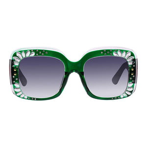 The Petals Sunglasses Green - Youthly Labs