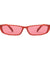 The Upwards Vintage Sunglasses Red