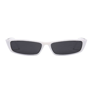 The Upwards Vintage Sunglasses White