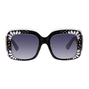 The Petals Sunglasses Black - Youthly Labs