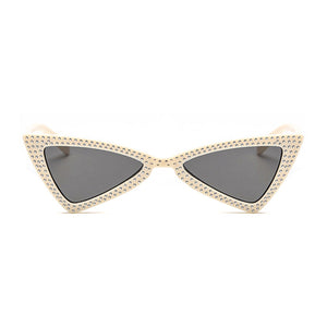 The Bowtie Bling Sunglasses Yellow - Youthly Labs