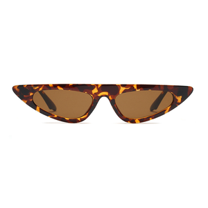 The Horizontal Blade Sunglasses Leopard - Youthly Labs