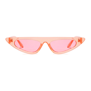 The Horizontal Blade Sunglasses Clear Pink - Youthly Labs