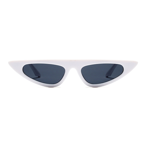 The Horizontal Blade Sunglasses White - Youthly Labs