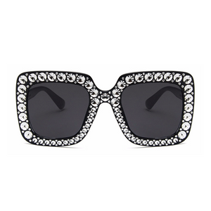 The Jeweler's Daughter Sunglasses Black - Youthly Labs