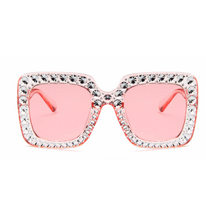 The Jeweler's Daughter Sunglasses Pink - Youthly Labs