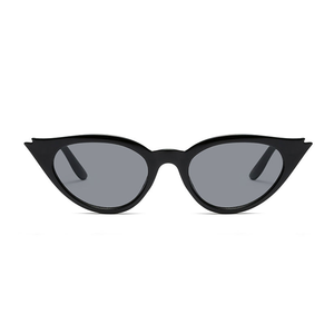The Kitty Eyelash Sunglasses Black - Youthly Labs