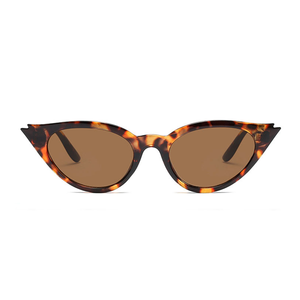 The Kitty Eyelash Sunglasses Leopard - Youthly Labs