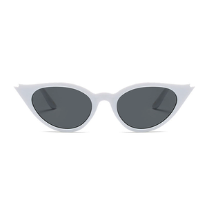 The Kitty Eyelash Sunglasses White - Youthly Labs