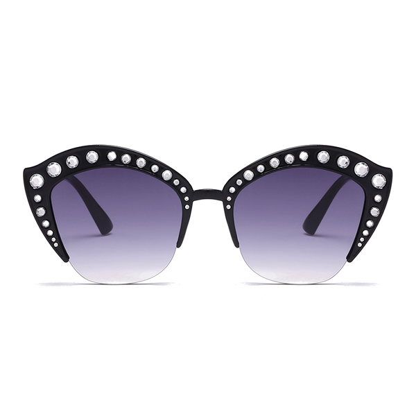 The Lipstick Jungle Sunglasses Black - Youthly Labs