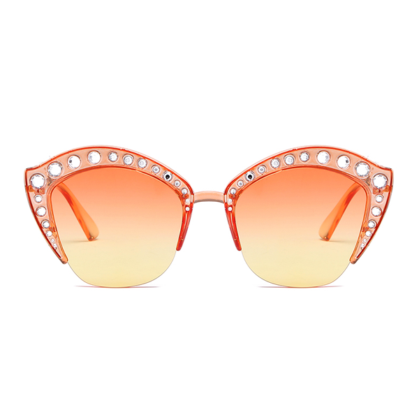 The Lipstick Jungle Sunglasses Orange - Youthly Labs