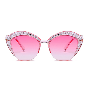 The Lipstick Jungle Sunglasses Pink - Youthly Labs