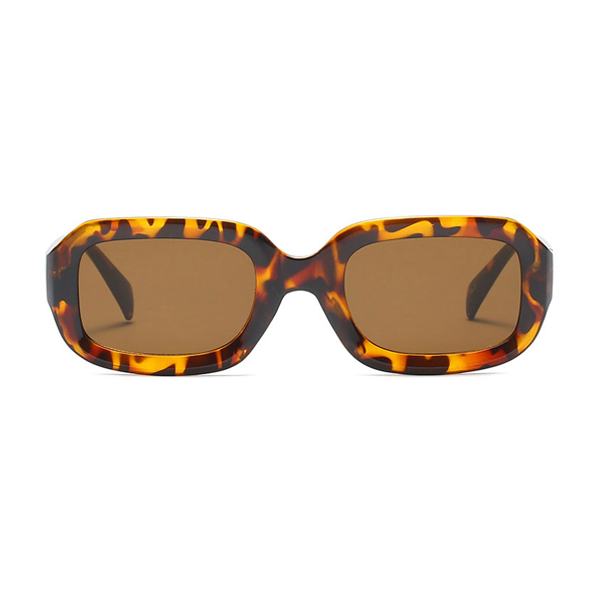 The Long Rectangle Sunglasses Leopard - Youthly Labs