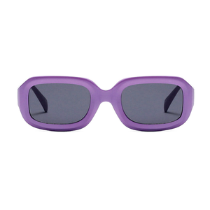 The Long Rectangle Sunglasses Purple - Youthly Labs
