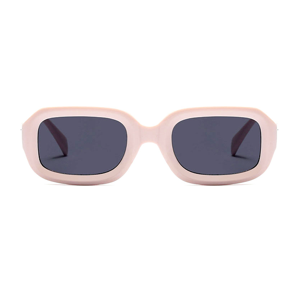 The Long Rectangle Sunglasses Beige - Youthly Labs