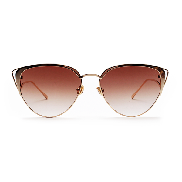 The Lover's Gaze Sunglasses Brown - Youthly Labs