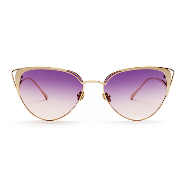 The Lover's Gaze Sunglasses Purple - Youthly Labs