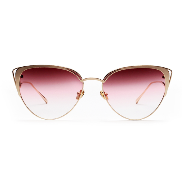 The Lover's Gaze Sunglasses Red - Youthly Labs