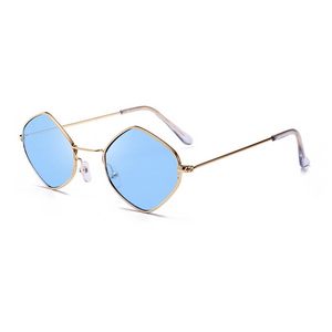 The Modern Diamond Sunglasses Blue - Youthly Labs