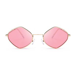 The Modern Diamond Sunglasses Pink - Youthly Labs