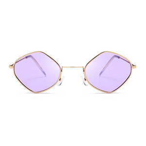 The Modern Diamond Sunglasses Purple - Youthly Labs