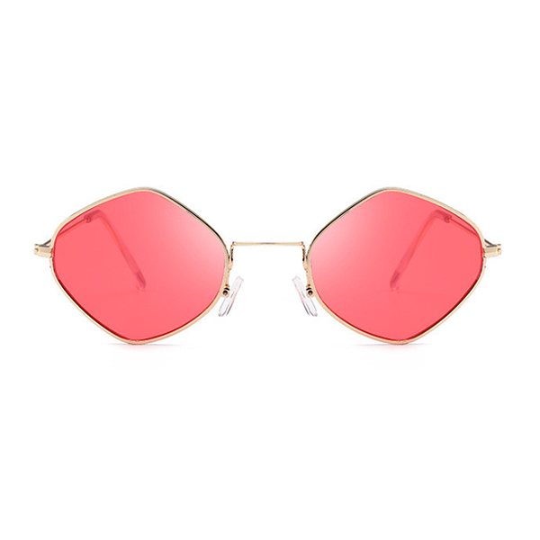 The Modern Diamond Sunglasses Red - Youthly Labs
