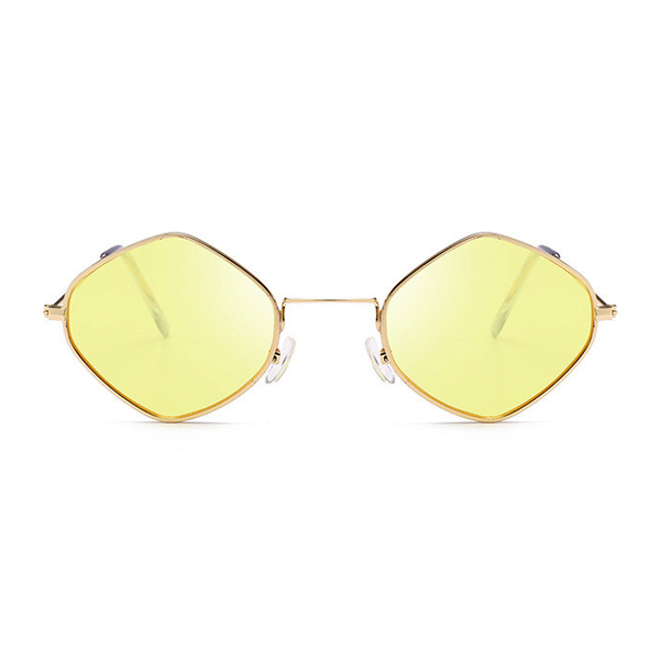 The Modern Diamond Sunglasses Yellow - Youthly Labs