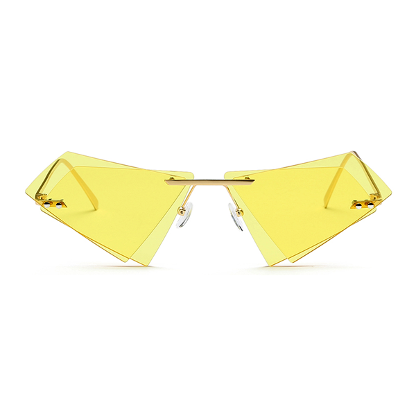 Origami Sunglasses Yellow - Youthly Labs