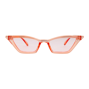 The Paper Airplane Sunglasses Clear Pink - Youthly Labs