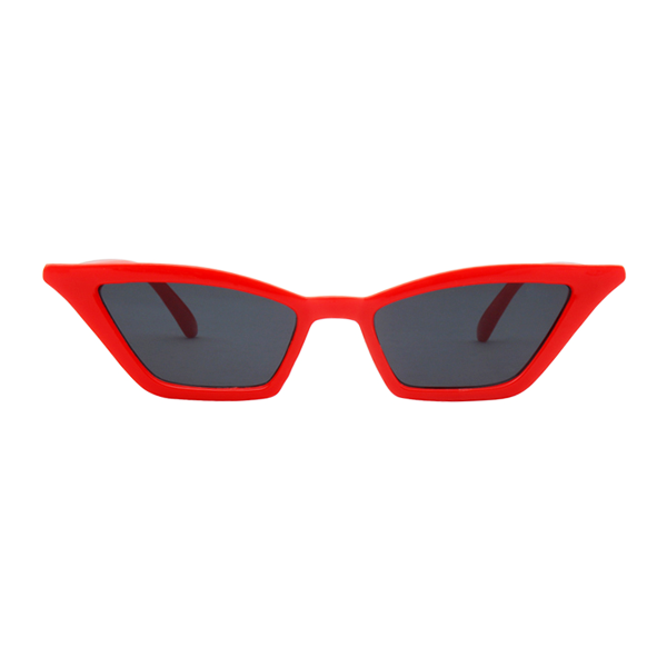 The Paper Airplane Sunglasses Black Red - Youthly Labs