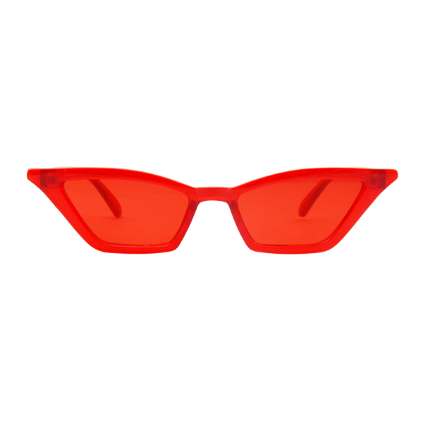 The Paper Airplane Sunglasses Red - Youthly Labs