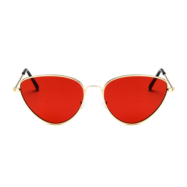 The Pear Shaped Sunglasses Red - Youthly Labs