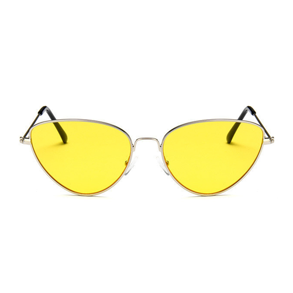 The Pear Shaped Sunglasses Yellow - Youthly Labs