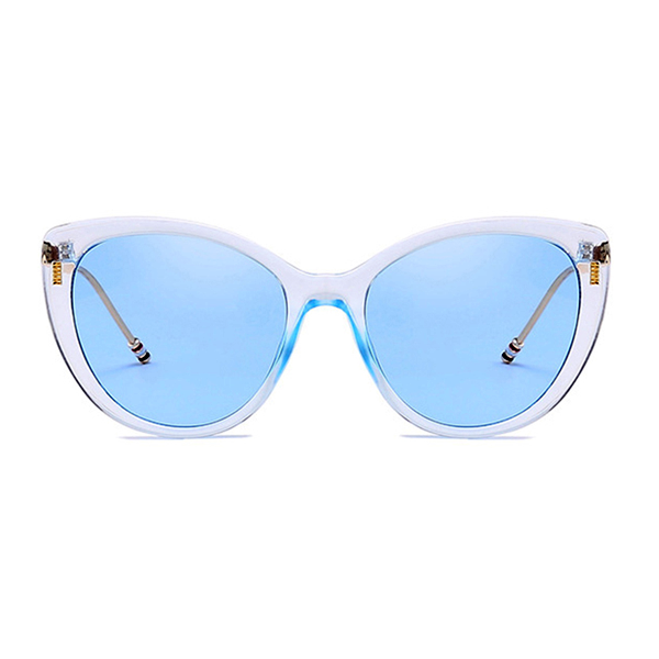 The Proper Kitty Sunglasses Clear Blue - Youthly Labs