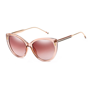 The Proper Kitty Sunglasses Clear Brown - Youthly Labs