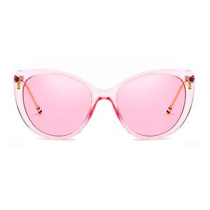 The Proper Kitty Sunglasses Clear Pink - Youthly Labs