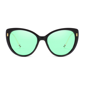 The Proper Kitty Sunglasses Green Black - Youthly Labs