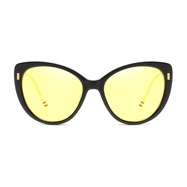 The Proper Kitty Sunglasses Yellow Black - Youthly Labs