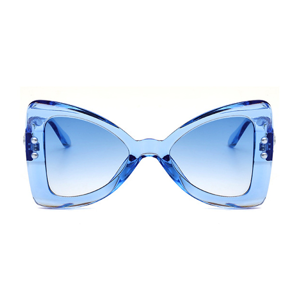 The Punk Butterfly Sunglasses Blue - Youthly Labs