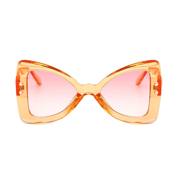 The Punk Butterfly Sunglasses Orange - Youthly Labs
