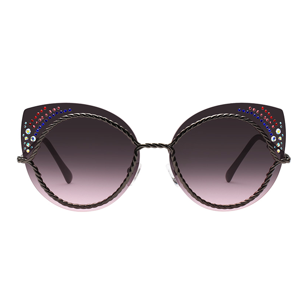 The Rainbow Dots Sunglasses Black - Youthly Labs