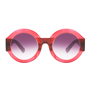 The Color Party Sunglasses Red Brown - Youthly Labs