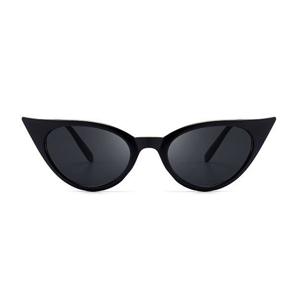 The Seductress Sunglasses Pure Black - Youthly Labs