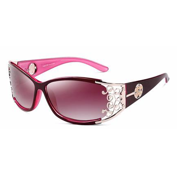 Isabella Sunglasses Royal Purple - Youthly Labs