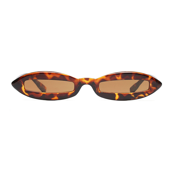 The Skinny View Sunglasses Leopard - Youthly Labs