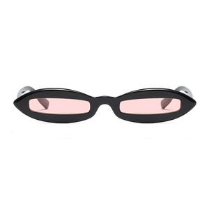 The Skinny View Sunglasses Pink Black
