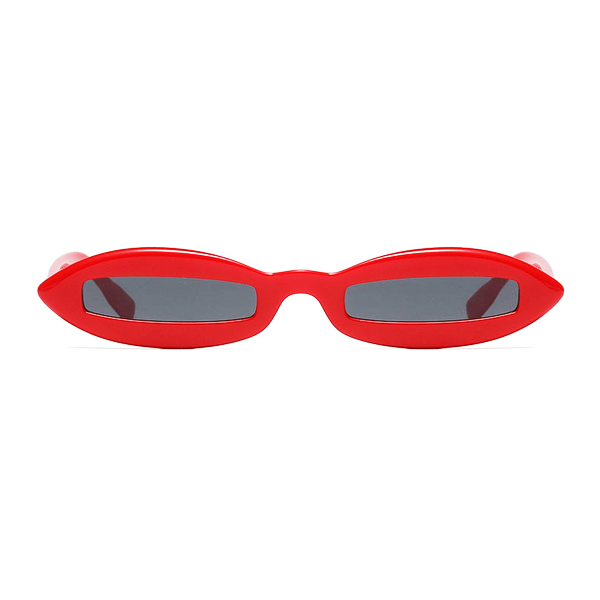 The Skinny View Sunglasses Red